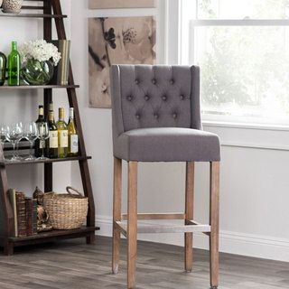 Shop for Cayle Tufted Upholstered 30-inch Barstool by Kosas Home. Get free shipping at Overstock.com - Your Online Furniture Outlet Store! Get 5% in rewards with Club O! - 18795834