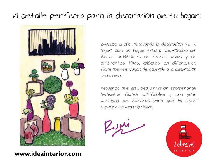 37 best decoraci n images on pinterest spaces paint and - Decoracion para el hogar ...