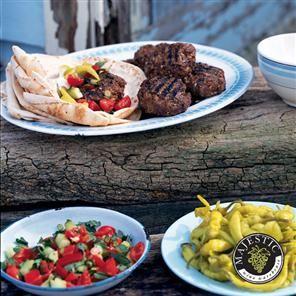 Turkish Lamb Burgers