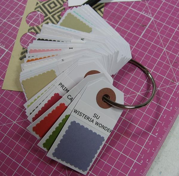 Organize your cardstock view at a glance great idea
