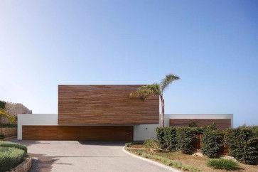 Pure White contemporary exterior