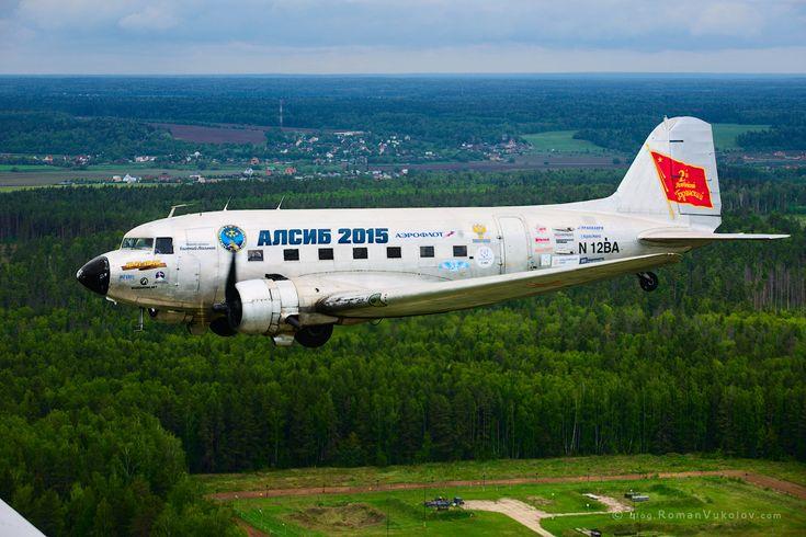 Мои впечатления от полёта на DC-3.