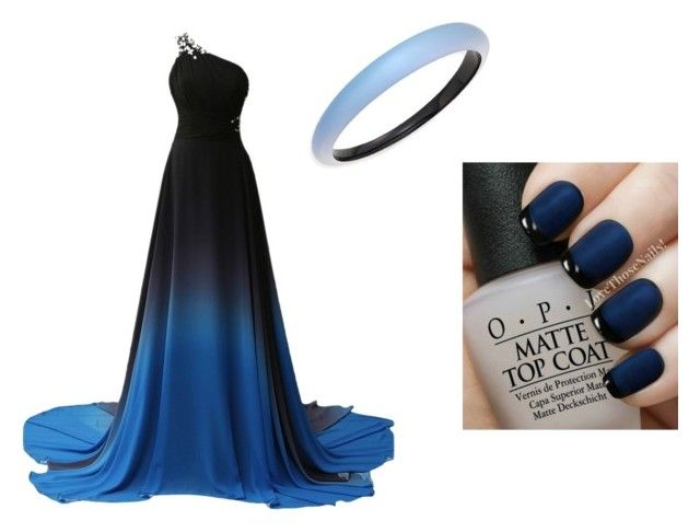 """Elegant"" by juanaguzman on Polyvore featuring Alexis Bittar and OPI"
