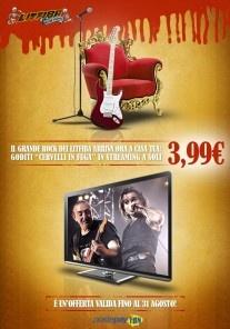 """Cervelli in Fuga - Europa Live 2011"" in streaming."