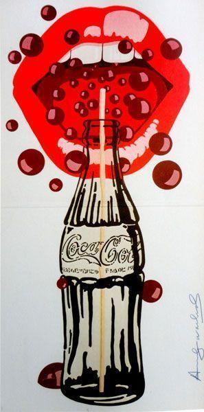 Andy Warhol, Velvet Underground, serigrafia su carta, pezzo unico, 63 x 31 cm. Collezione privata <br/><br/>