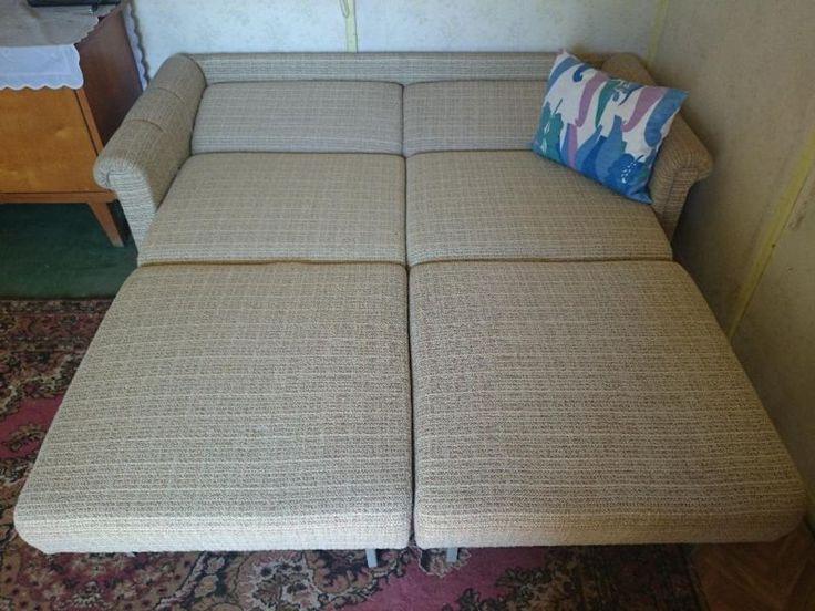 Ddr sofa dagmar schlaffunktion ddr design pinterest for Sofa 60er gebraucht