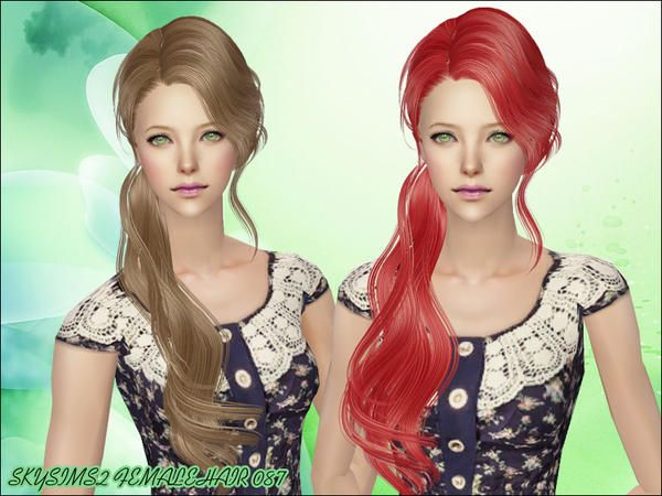 Sims 2 red dress johnny