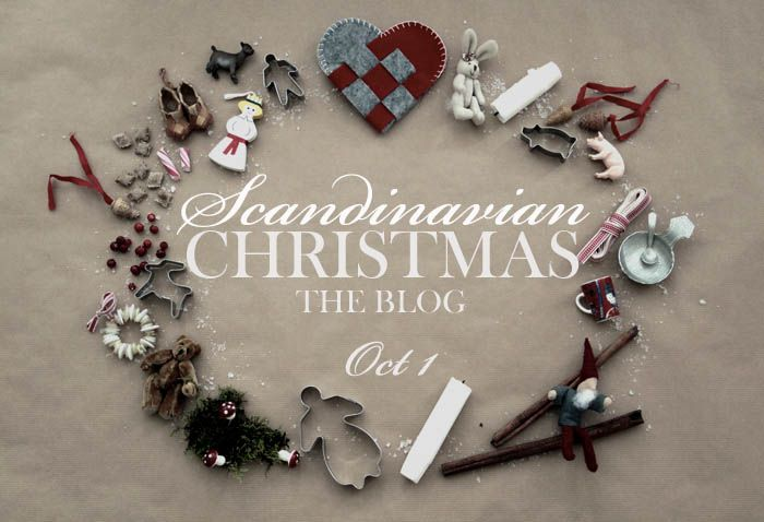 WE LOVE THIS BLOG! Great ideas and presented in such a sweet clean way. Scandinavian Christmas - The Blog