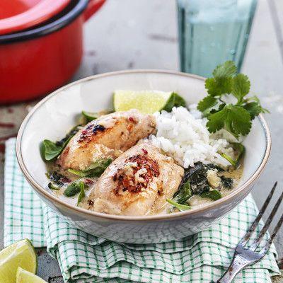 Kycklingfavorit i enkla thaisåsen