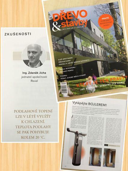 VYTÁPĚJTE BOJLEREM! :)  2016/04 DŘEVO & stavby již v prodeji! více na http://www.drevoastavby.cz/casopis-drevo-a-stavby/aktualni-cislo