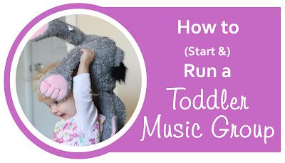 Everyday Reading: How to Start a Toddler Music Group: Part 2 - songs to sing with the kids