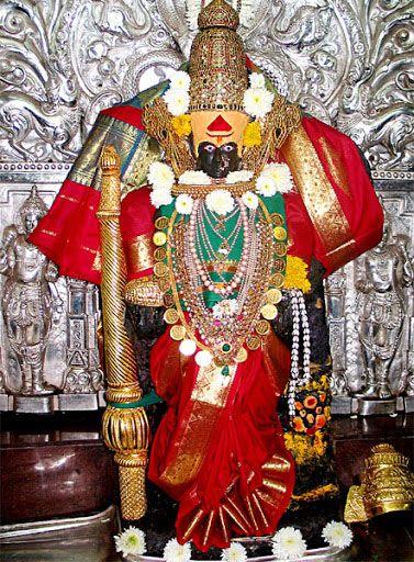महाराष्ट्र के कोल्हापुर में स्थित 'महालक्ष्मी' अथवा 'अम्बाईका मंदिर' ही यह शक्तिपीठ है। यहां माता का त्रिनेत्र गिरा था। यहां की शक्ति 'महिषामर्दिनी' तथा भैरव क्रोधशिश हैं। यहां महालक्ष्मी का निज निवास माना जाता है।