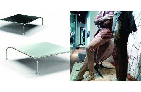 82 best table basse design images on pinterest salons cabinet and chesterf - Table plateau verre trempe ...