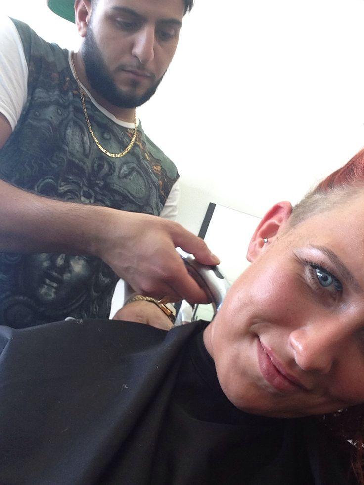 Barber_Ido (Idris) busy whit my hair