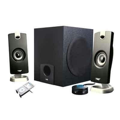 3 PC Gaming Speakers Black
