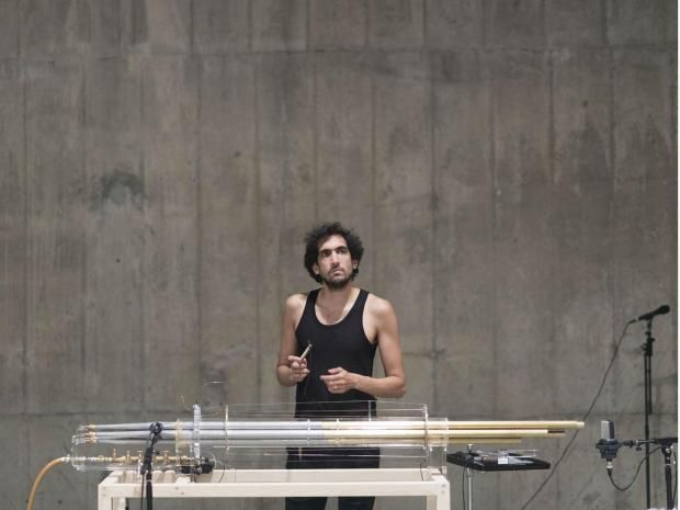 BMW Tate Live: Tarek Atoui: The Reverse Collection, review: Linger in the basement of the new Tate Modern and enjoy the moment