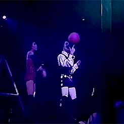 elhrazaddo:  New trending GIF tagged basketball, spinning, prince via Giphy http://ift.tt/1yCpjfM