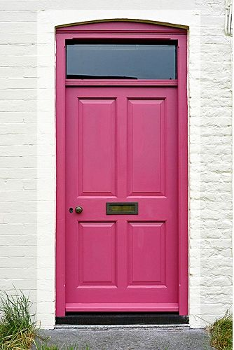 pink door & 148 best Pink doors NOT pink houses I like... images on Pinterest ...