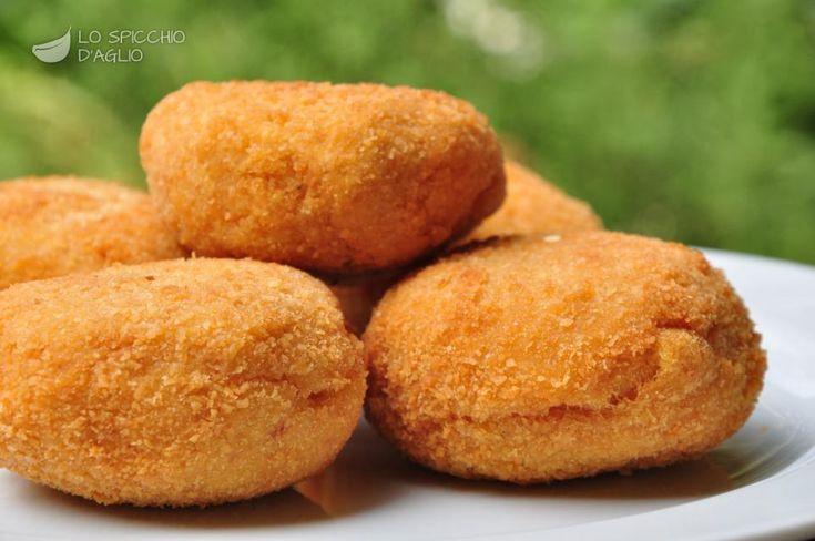 Crocchette di patate e mortadella