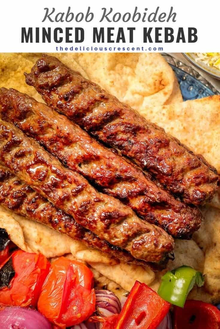 Koobideh Kabob Are The Most Juicy And Amazingly Flavorful Middle Eastern Ground Meat Kebabs Ever This Classic Pe Kebab Recipes Persian Food Kebab Recipes Beef