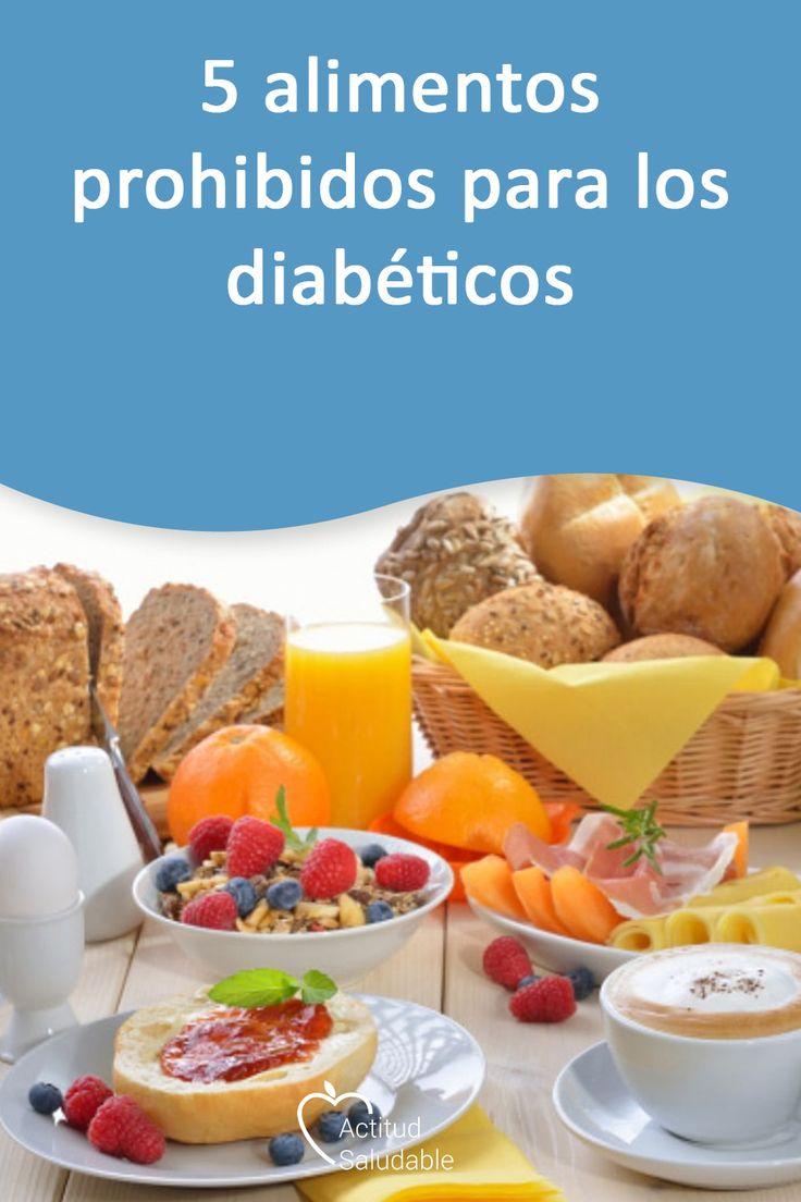 5 alimentos prohibidos para los diabéticos - Lista de..