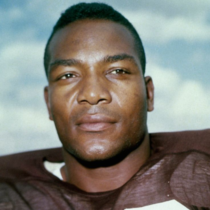 James Nathaniel Brown Cleveland Browns of the National Football League from 1957 through 1965