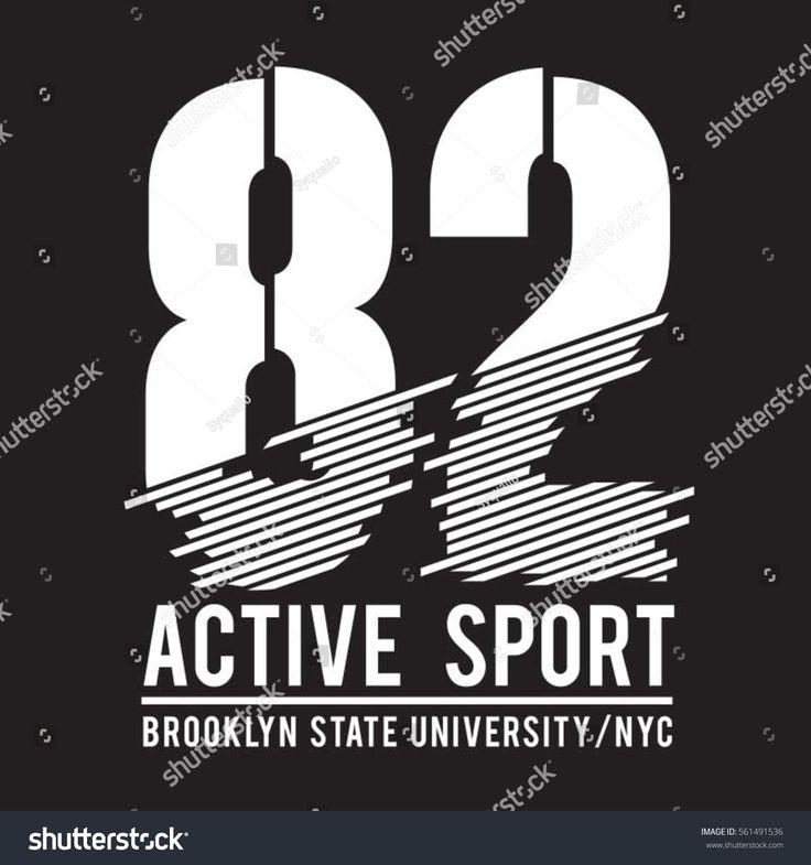 Brooklyn sport typography, tee shirt, graphics, vectors