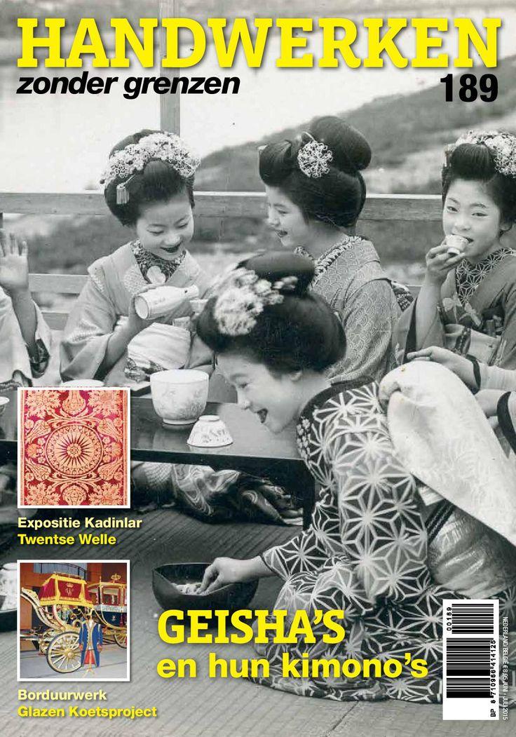 HZG189. Met hierin o.a. de kimono's van de Geisha's, Mexicaanse veren, geborduurde tuinen, machinale draadschilderingen en Amishquilts.