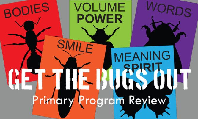 Get-the-Bugs-Out Primary Program Song Review. Singing Time! I'm definitely doing this