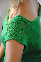 Ravelry: Camelia Tee pattern by Playsweetmusic Design