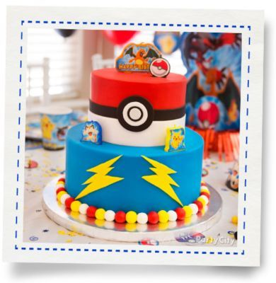 Pokemon Trainer Cake How-To - Party City
