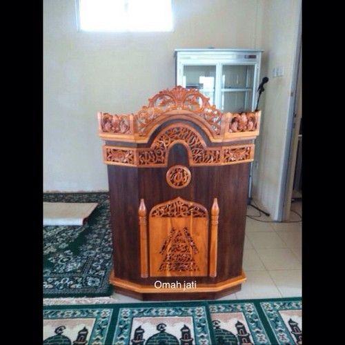 Mimbar Masjid Ukiran jepara, mimbar masjid