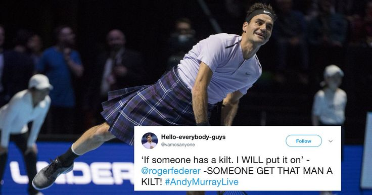 #VR #VRGames #Drone #Gaming Roger Federer wore a kilt to a tennis match and it's cooler than you'll ever be   https://datacracy.com/roger-federer-wore-a-kilt-to-a-tennis-match-and-its-cooler-than-youll-ever-be/