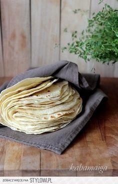 Tortilla Składniki: pół litra mleka łyżeczka soli 5… na Stylowi.pl