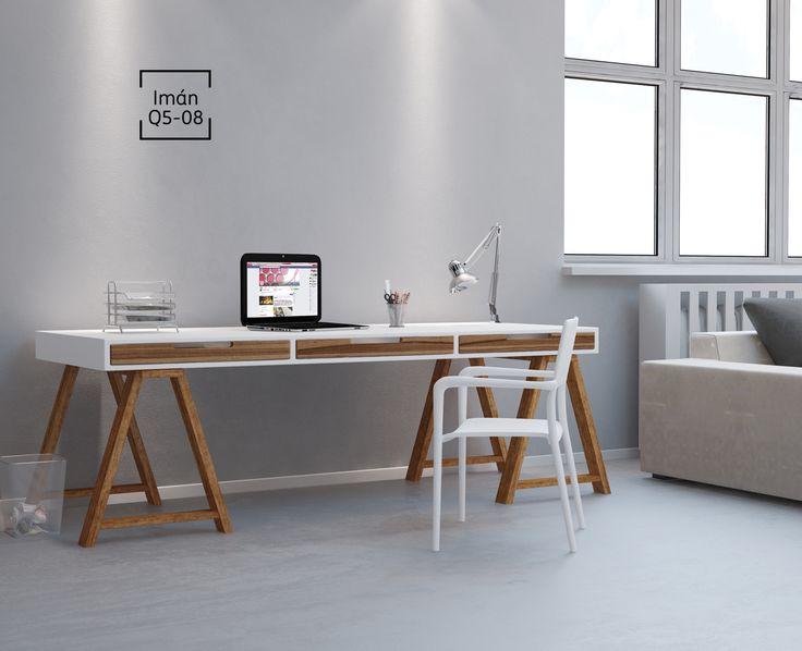 Mantener tu lugar de trabajo siempre ordenado es la primer regla para la inspiración.