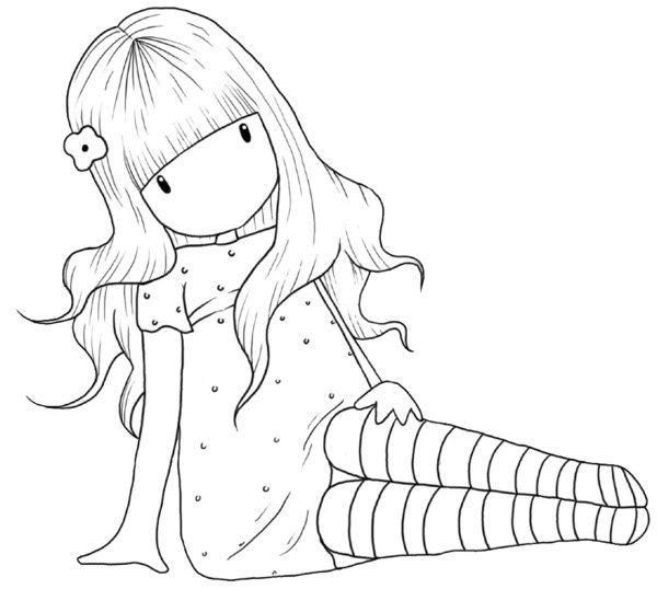 .muñeca sentada