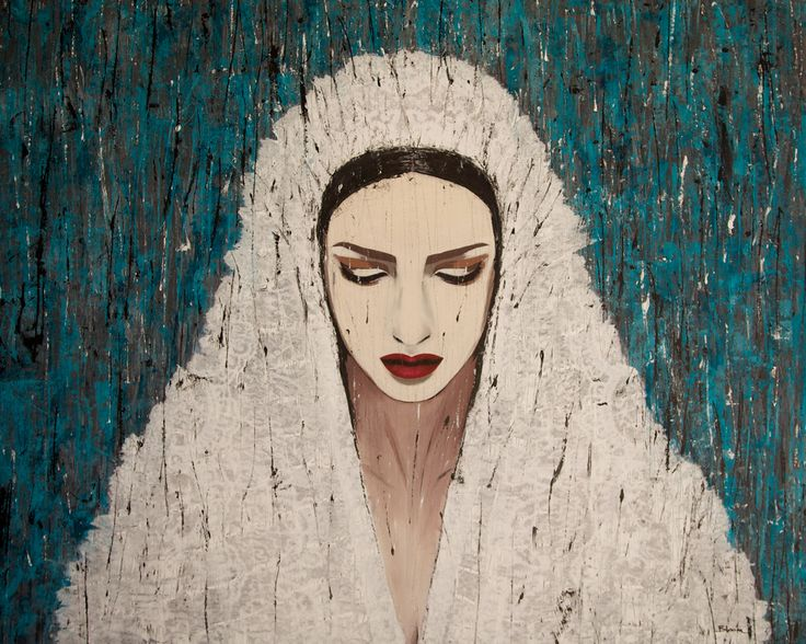 DONNA / 115 x 145 cm / acrylic on canvas / 2014 by Lilja Bloom
