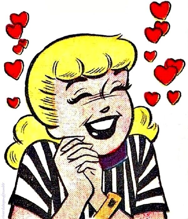 Betty Cooper, Archie Comic Publications, Inc.  https://www.pinterest.com/citygirlpideas/archie/