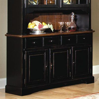 Brooks Furniture 1654 Classic Heirlooms Buffet Sideboard, Antique Cherry
