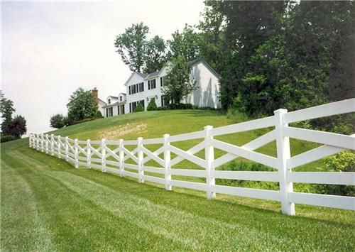 Like this style of fence for front