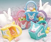 Mini Easter Baskets Plastic Canvas Pattern ePattern