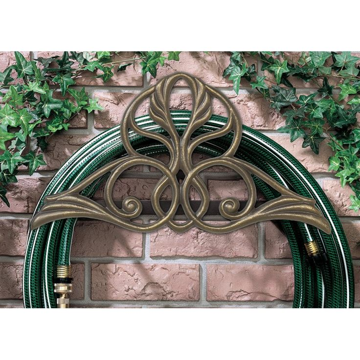 Whitehall Victorian Garden Hose Holder French Bronze - 00908