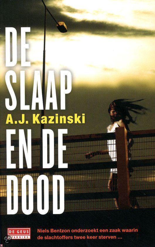 80/75 Gelezen dec. 2015, 5 sterren van mij. Wat een goed boek! Ik schrijf er nog een recensie over. (B)(2015) Tip Anne-Marie Sw., super goed en spannend boek: De slaap en de dood - A.J. Kazinski - Niels Bentzon, gijzelingsonderhandelaar bij de politie, moest haar aan het praten zien te krijgen. Maar het is hem niet gelukt; ze sprong haar dood tegemoet. Niels blijft alleen achter op de brug: wie was zij en waar vluchtte ze voor?