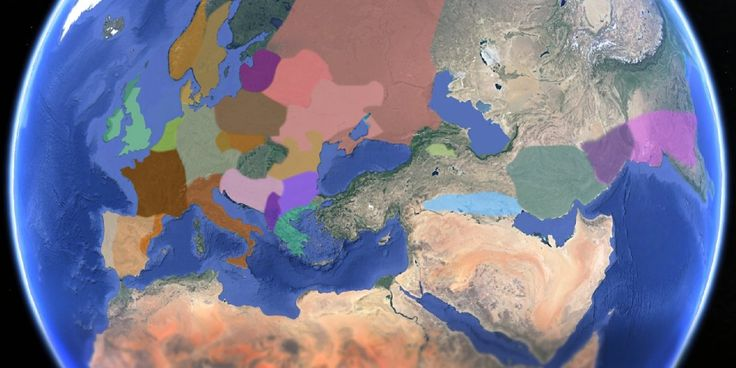 Animated map shows how European languages evolved and spread VIDEO: 8,000 years ago it all began.