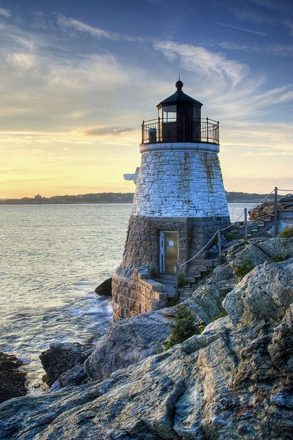 Castle Hill Lighthouse - Newport, Rhode Island