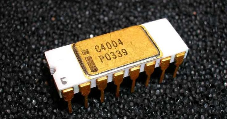 On November 15, 1971, Intel presented the Intel 4004 microprocessor, the world's very first commercially available 4-bit central processing unit (CPU). It was the first complete CPU on one chip.