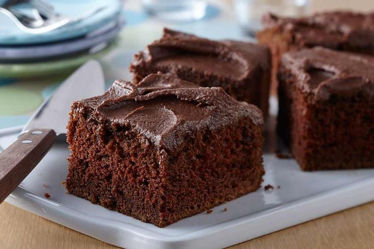 Buttermilk Chocolate Cake with Chocolate Malt Frosting - AE Dairy Recipes