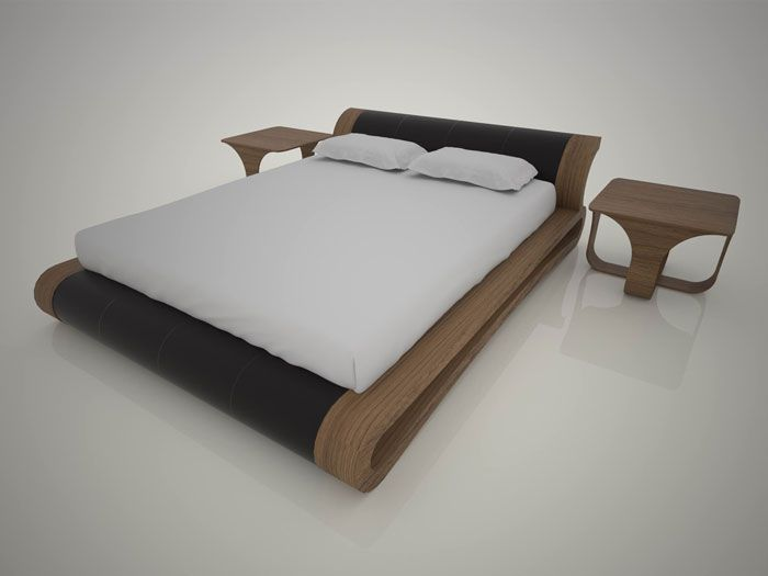 Arco Bed by Cristian Sporzon