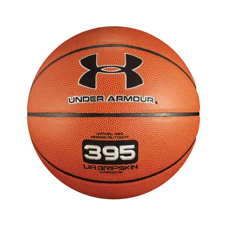 UA 395 indoor/outdoor basketball. UA's exclusive UA GRIPSKIN microfiber composite gives this basketball stronger grip and gives you more game. $24.99
