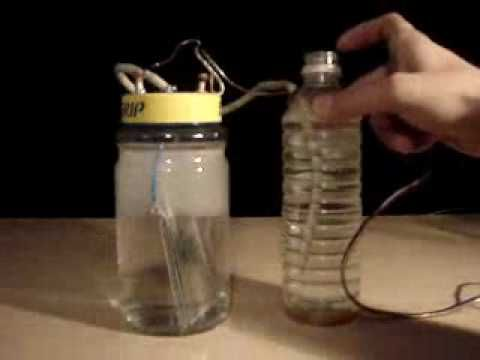 How to make A Hydrogen Generator Cell From Household - YouTube